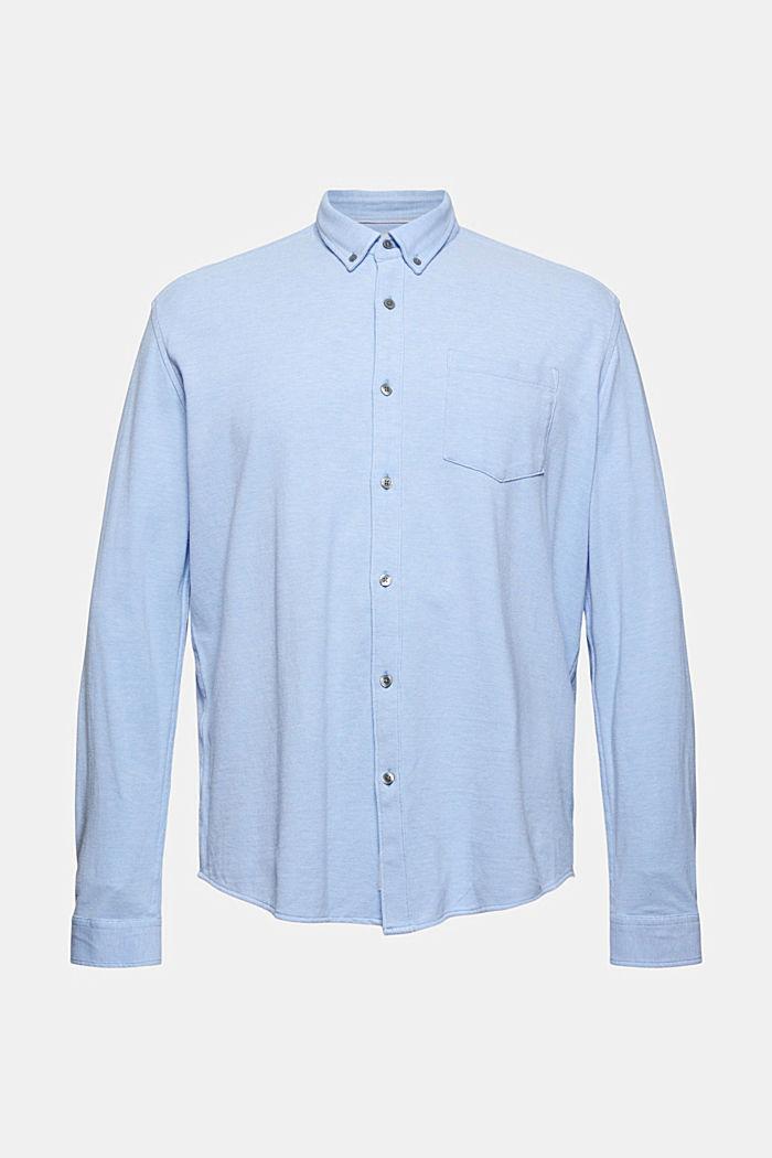 Camicia in jersey di 100% cotone
