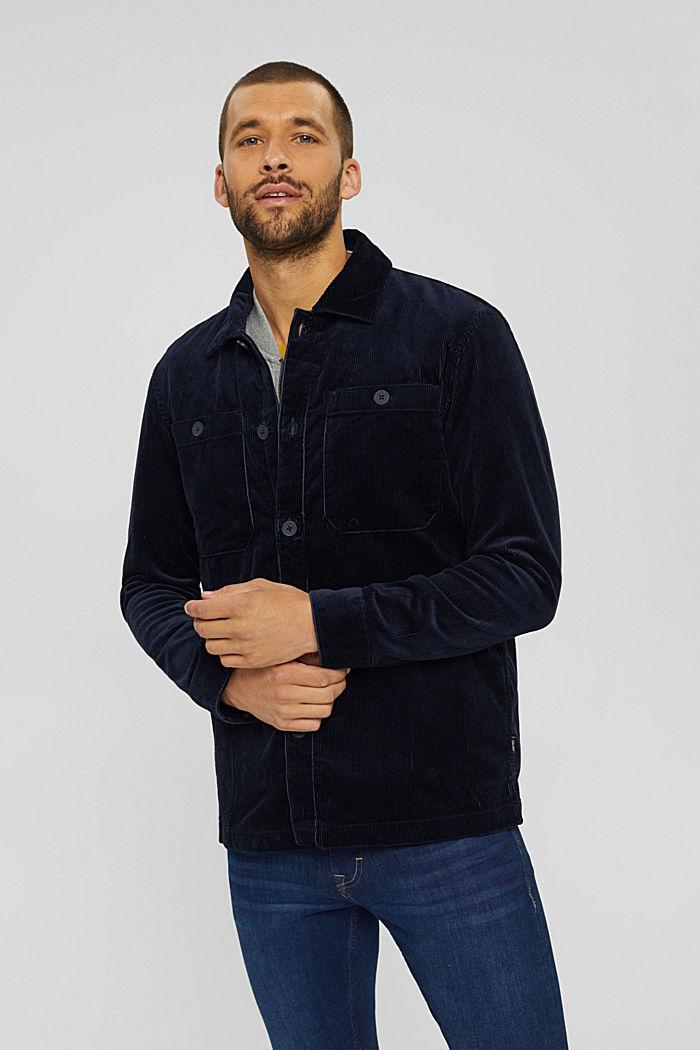 Cord-Overshirt aus Bio-Baumwolle