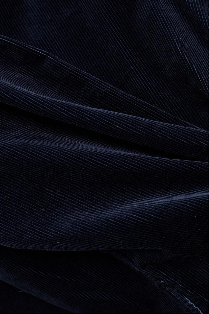 Cord-Overshirt aus Bio-Baumwolle, NAVY, detail image number 4