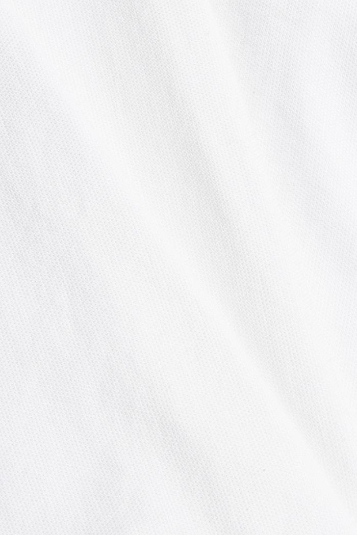 Struktur-Hemd aus 100% Organic Cotton, WHITE, detail image number 4