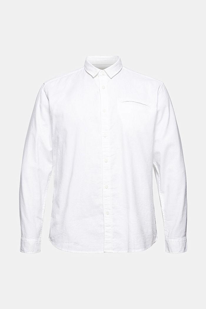 Struktur-Hemd aus 100% Organic Cotton