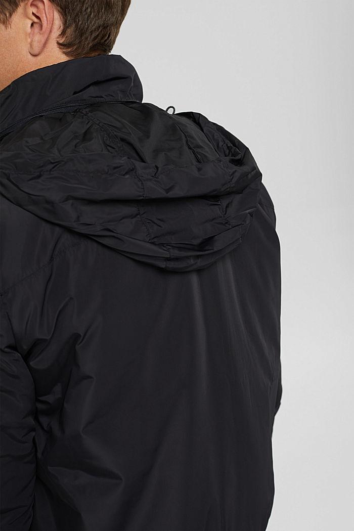 Gerecycled: bomberjack met 3M™ Thinsulate, BLACK, detail image number 5