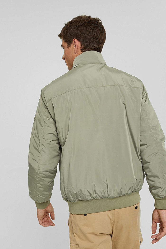 Recycled: bomber jacket with 3M™ Thinsulate, PALE KHAKI, detail image number 3