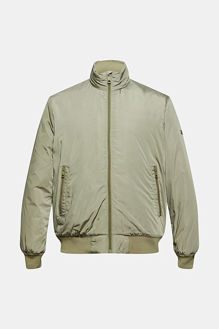 Recycled: bomber jacket with 3M™ Thinsulate, PALE KHAKI, detail image number 6