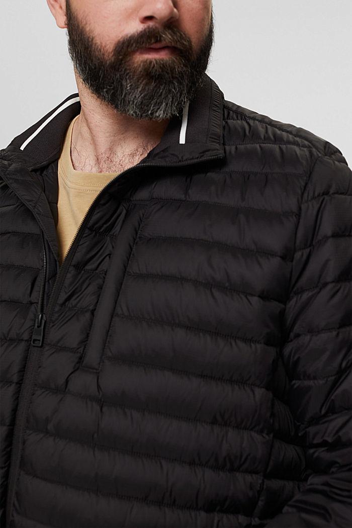 Reciclada: cazadora acolchada con relleno Thinsulate™ de 3M™, BLACK, detail image number 2
