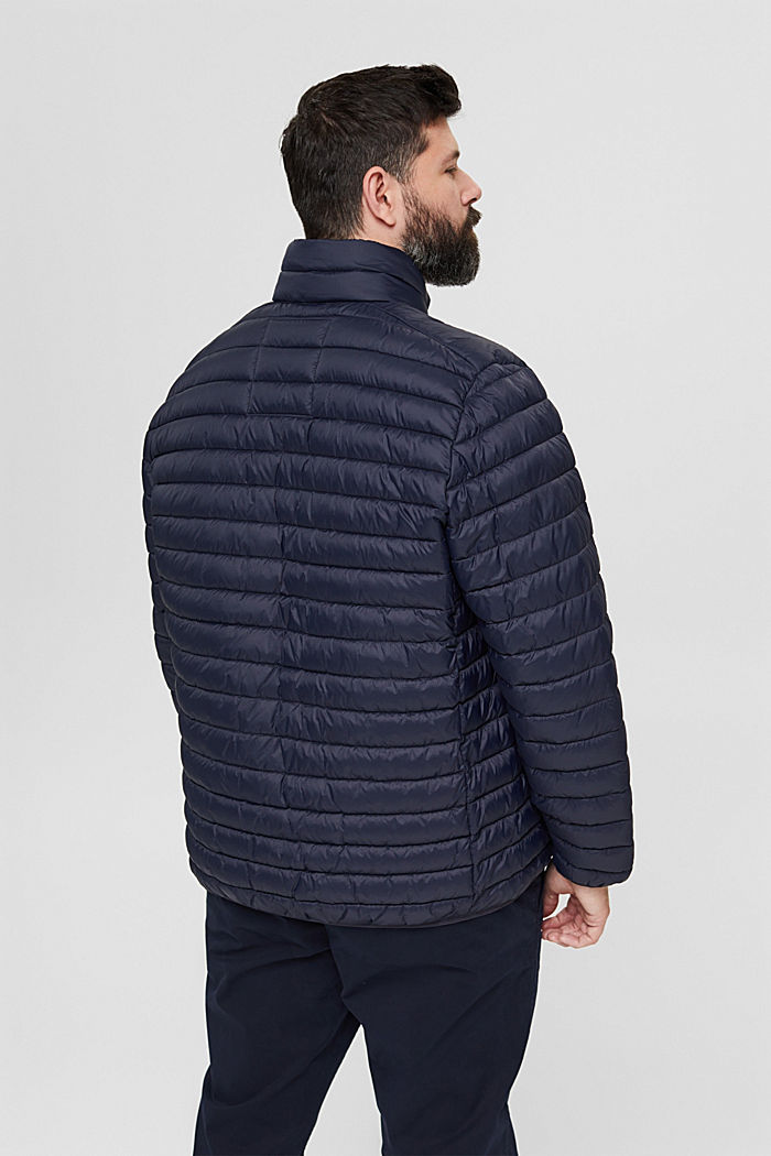 Recycled: Quilted jacket with 3M™ Thinsulate™, DARK BLUE, detail image number 3