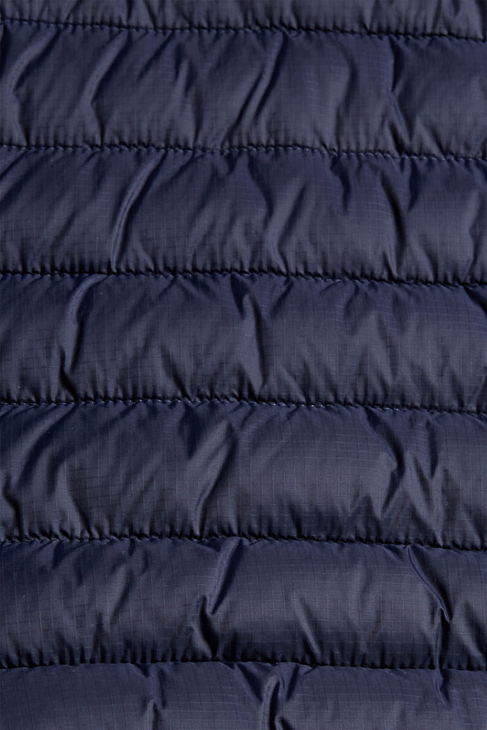Recycled: Quilted jacket with 3M™ Thinsulate™, DARK BLUE, detail image number 4