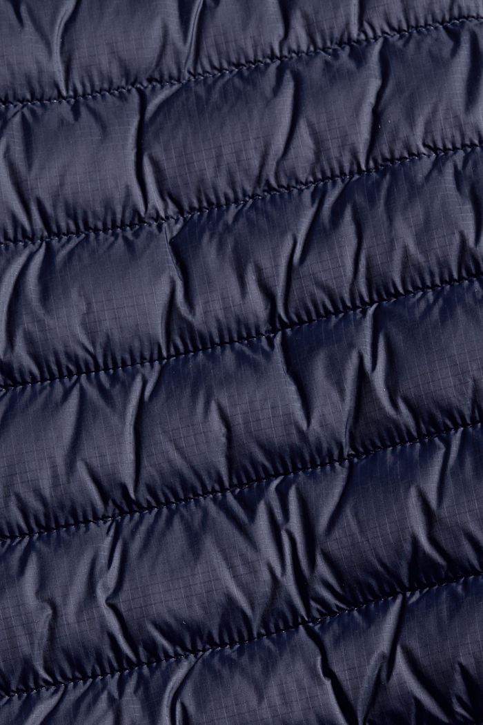 Recycelt: Steppweste mit 3M™ Thinsulate™, DARK BLUE, detail image number 5