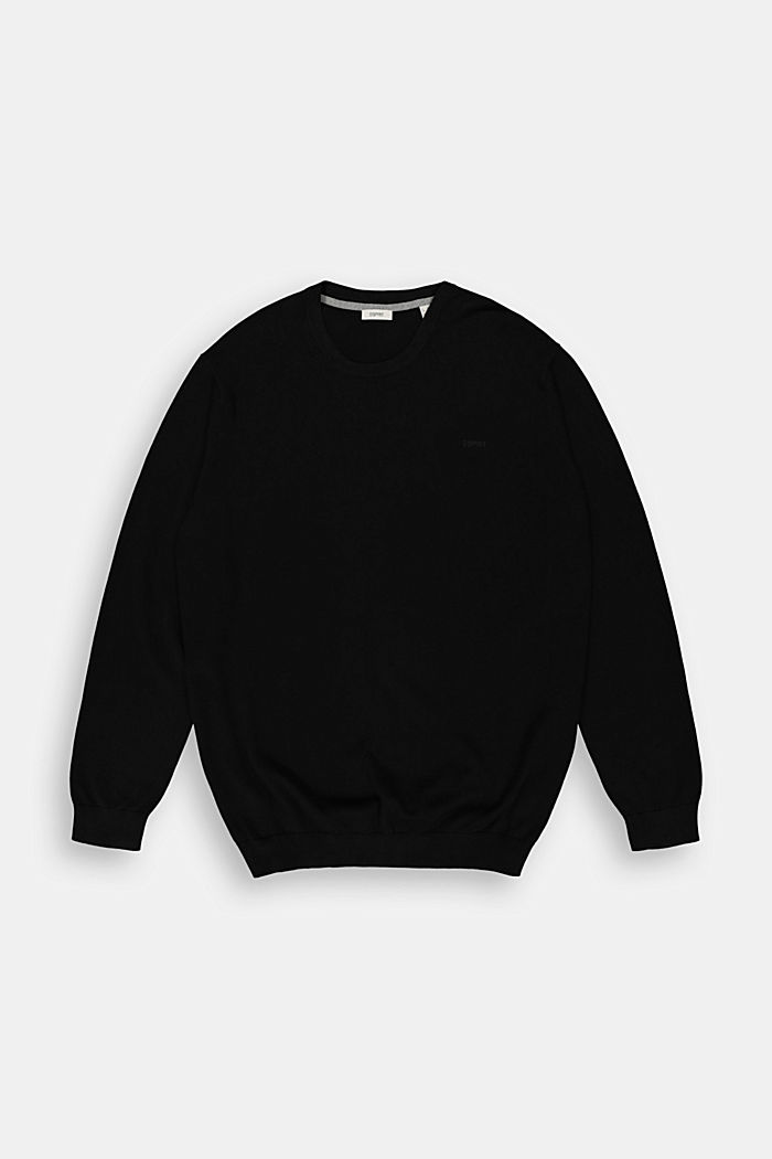 Fijngebreide trui van 100% pima katoen