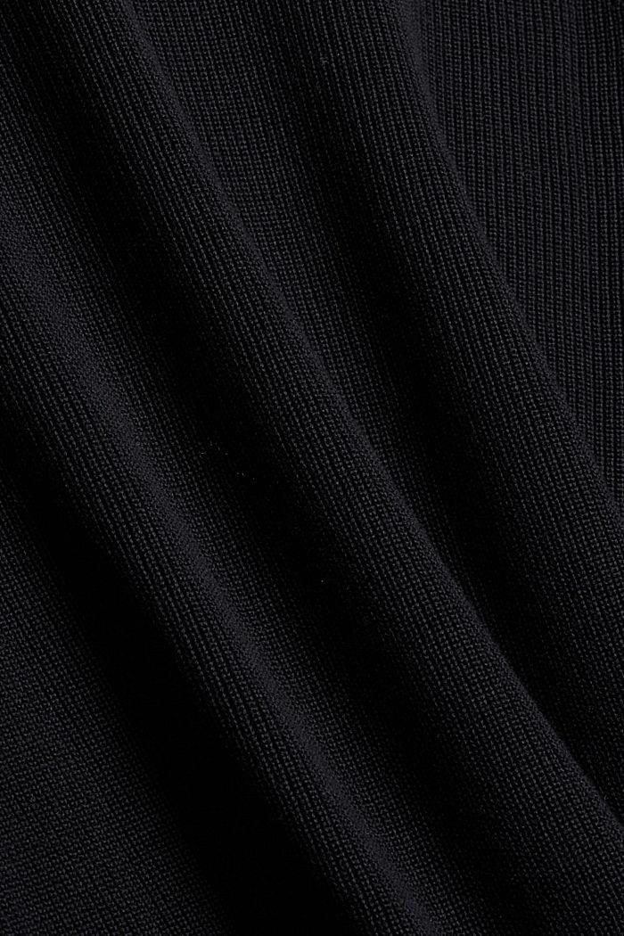 Coltrui van 100% biologisch katoen, BLACK, detail image number 4