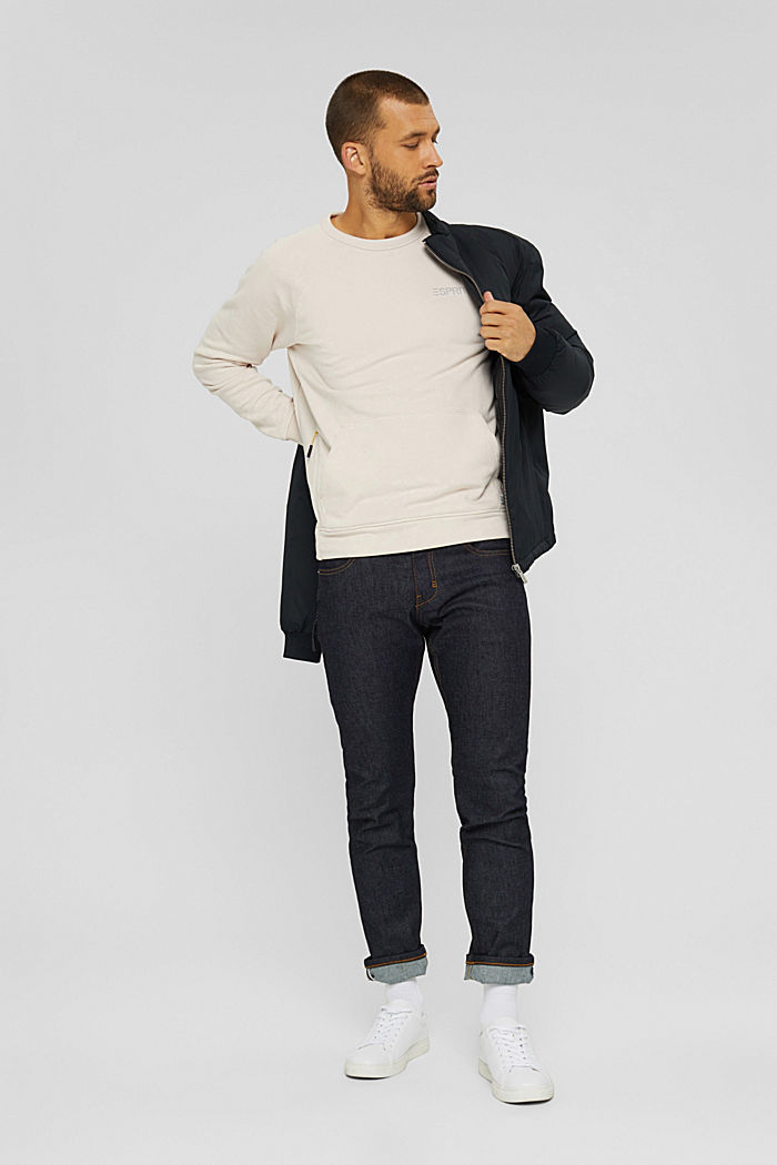 #ReimagineFlexibility: sweatshirt, CREAM BEIGE, detail image number 1