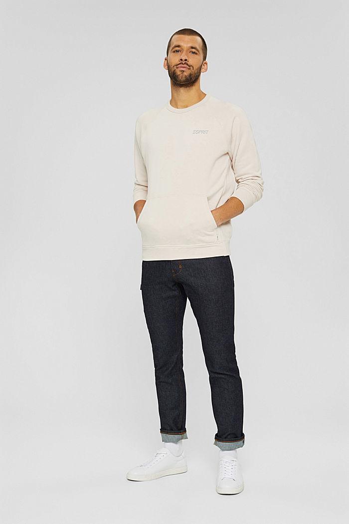 #ReimagineFlexibility: sweatshirt, CREAM BEIGE, detail image number 7