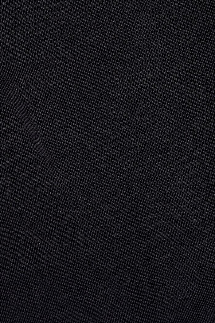 #ReimagineFlexibility: sweat à capuche en mélange de matières, BLACK, detail image number 4