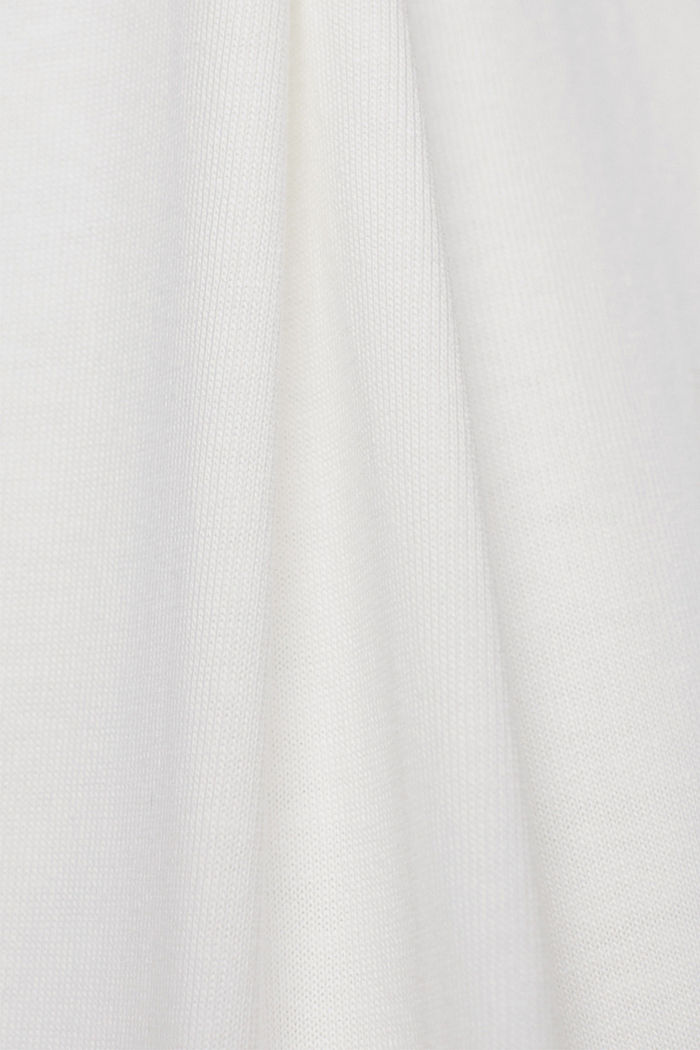 T-shirt made of 100% organic cotton, OFF WHITE, detail image number 4