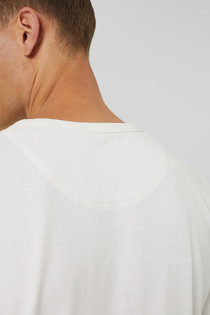 T-shirt made of 100% organic cotton, OFF WHITE, detail image number 5