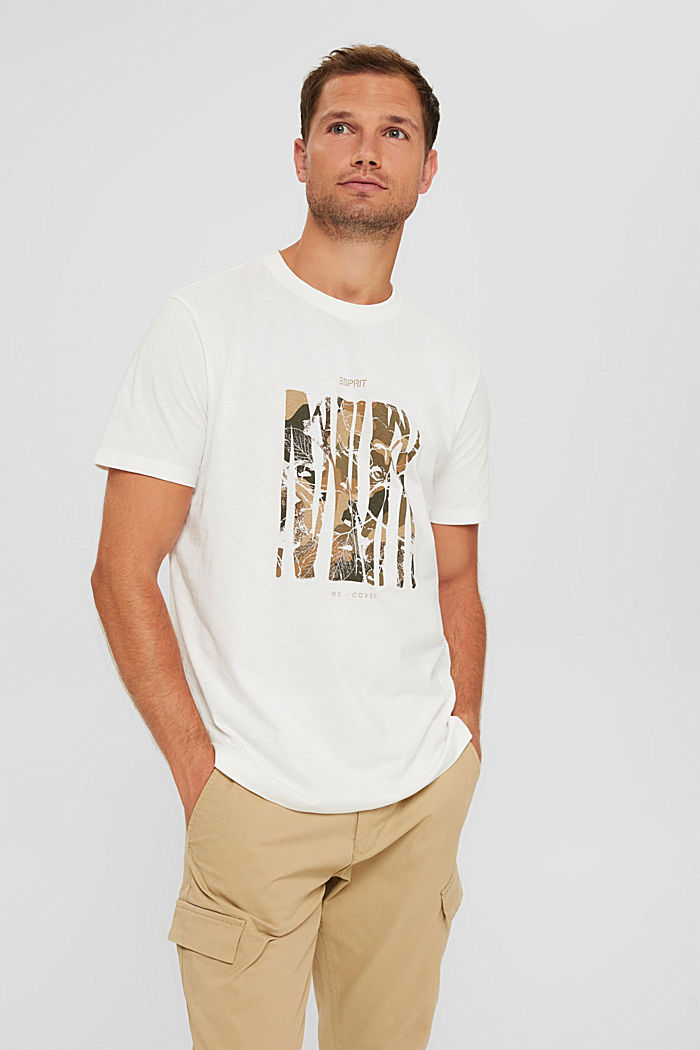 Recycled: jersey T-shirt made of cotton