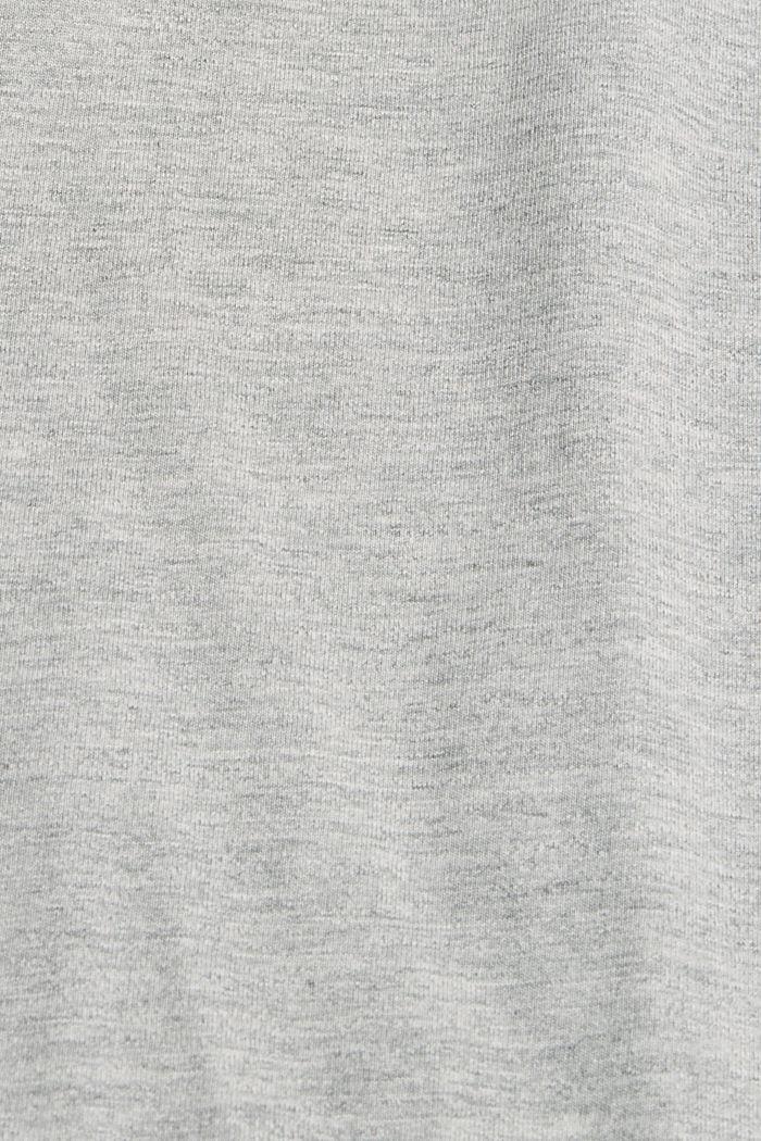 #ReimagineFlexibility: le t-shirt en jersey, LIGHT GREY, detail image number 4