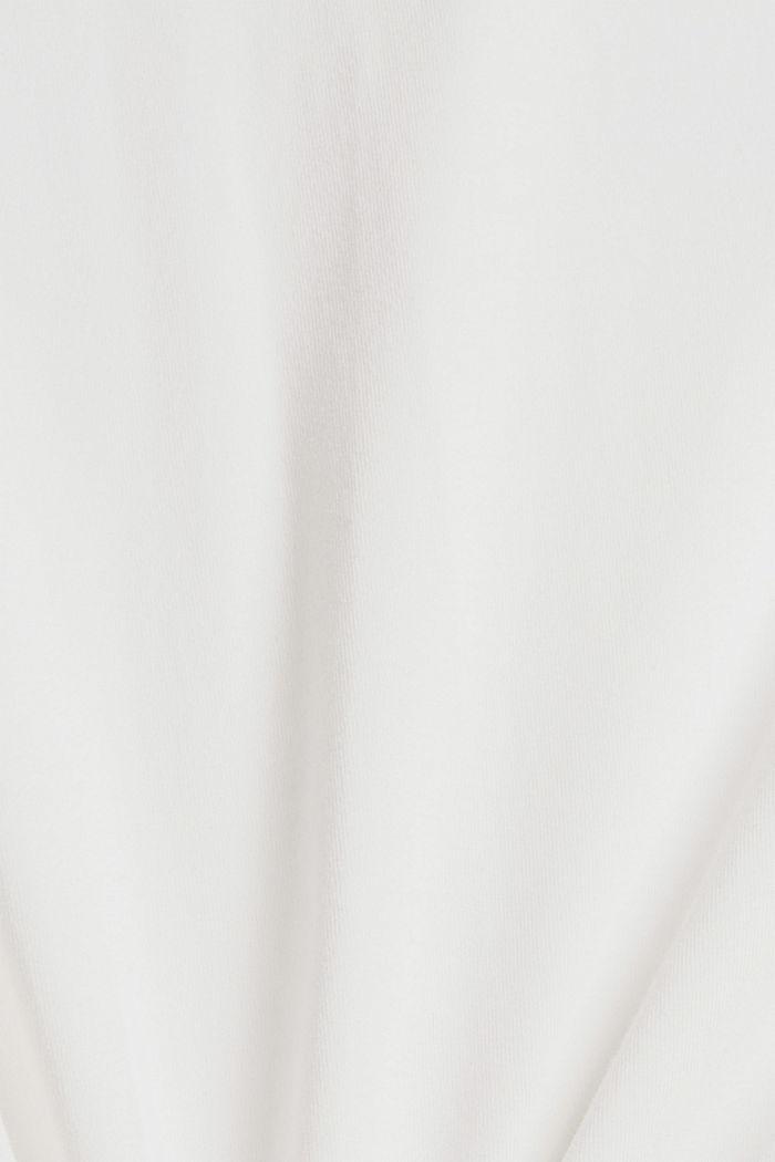 Jersey-Longsleeve aus 100% Bio-Baumwolle, OFF WHITE, detail image number 4