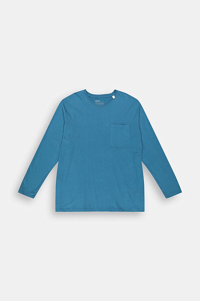 Camiseta de manga larga en 100 % jersey de algodón ecológico