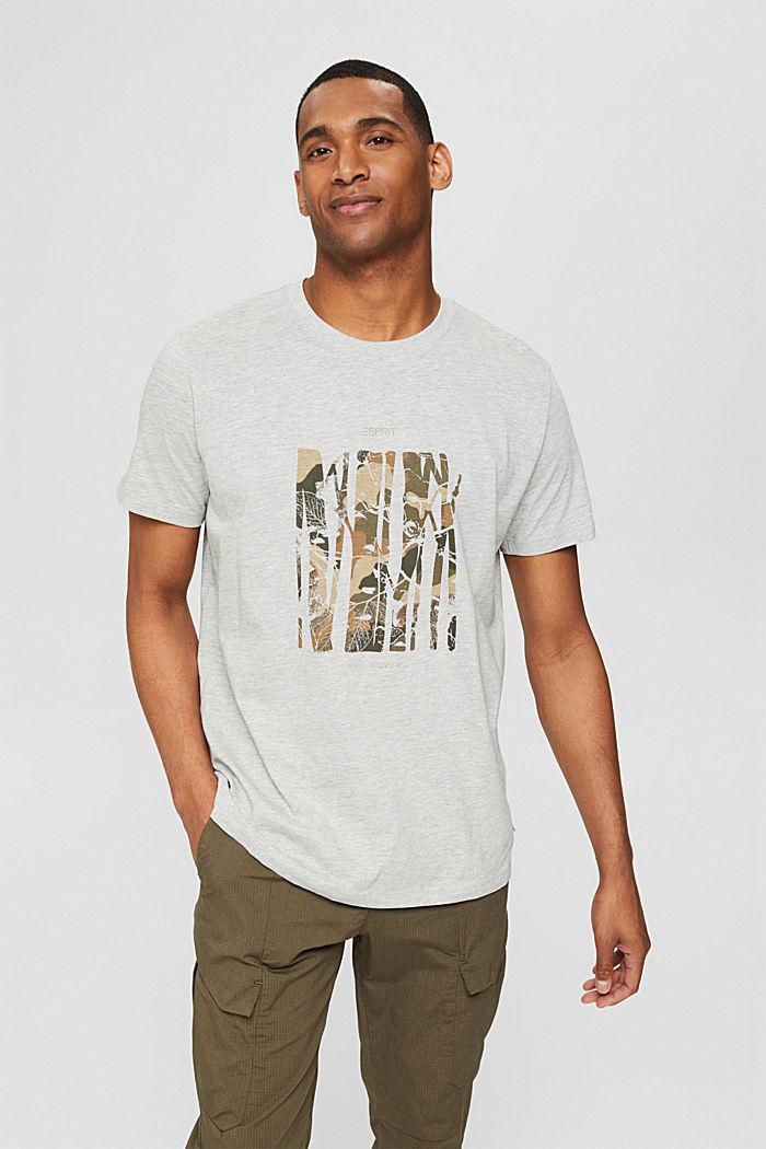 Återvunnet material: T-shirt i jersey av bomull