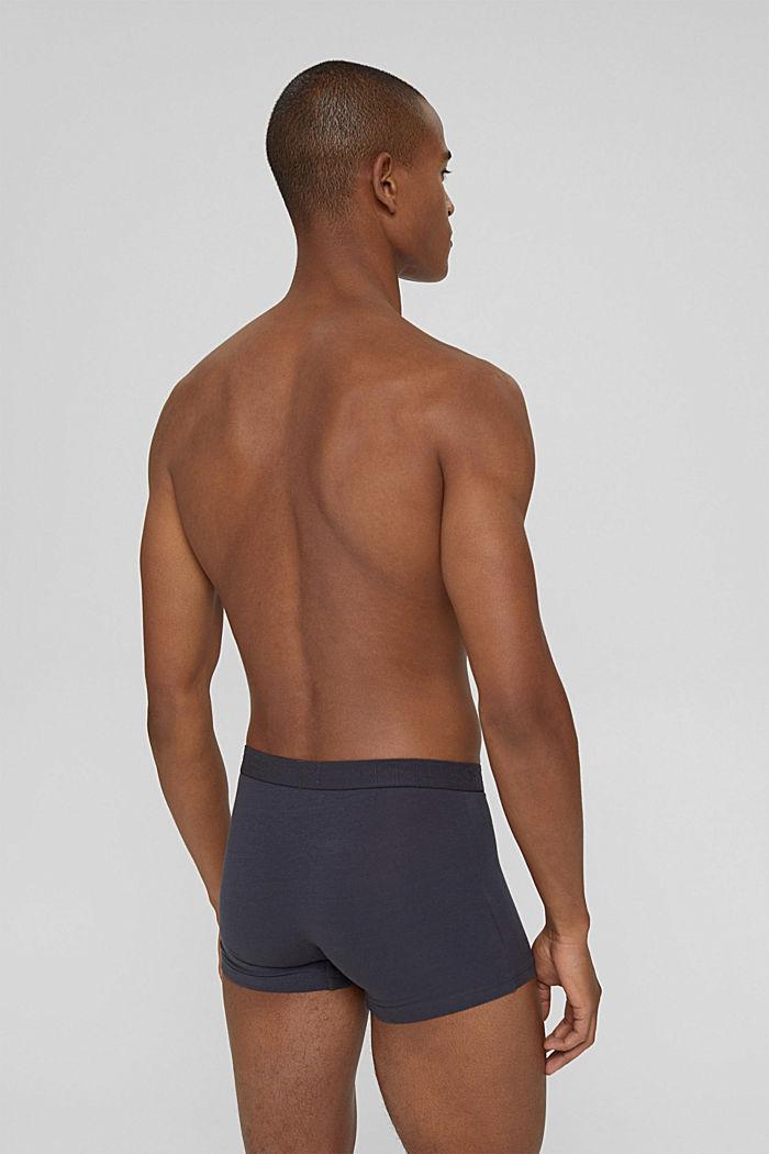Set van 3 hipster-shorts van katoen-stretch, DARK GREY, detail image number 1