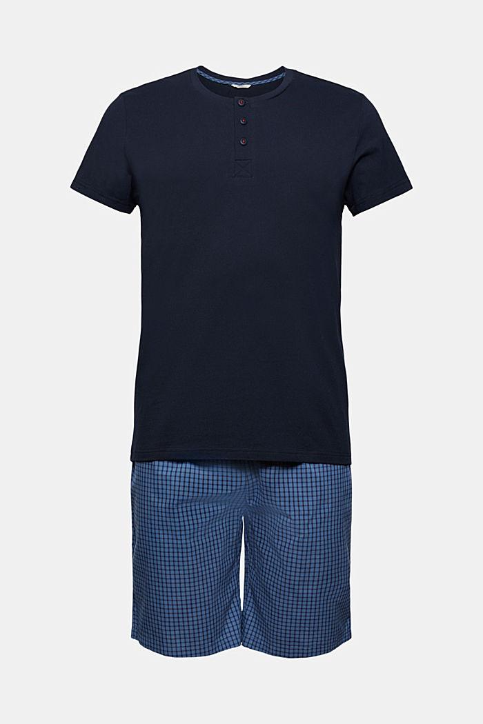 Pyjama court, 100% coton biologique