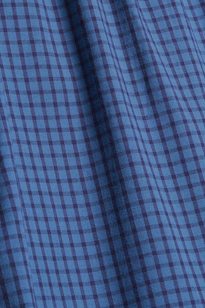 Lange pyjamabroek van 100% biologisch katoen, NAVY, detail image number 6
