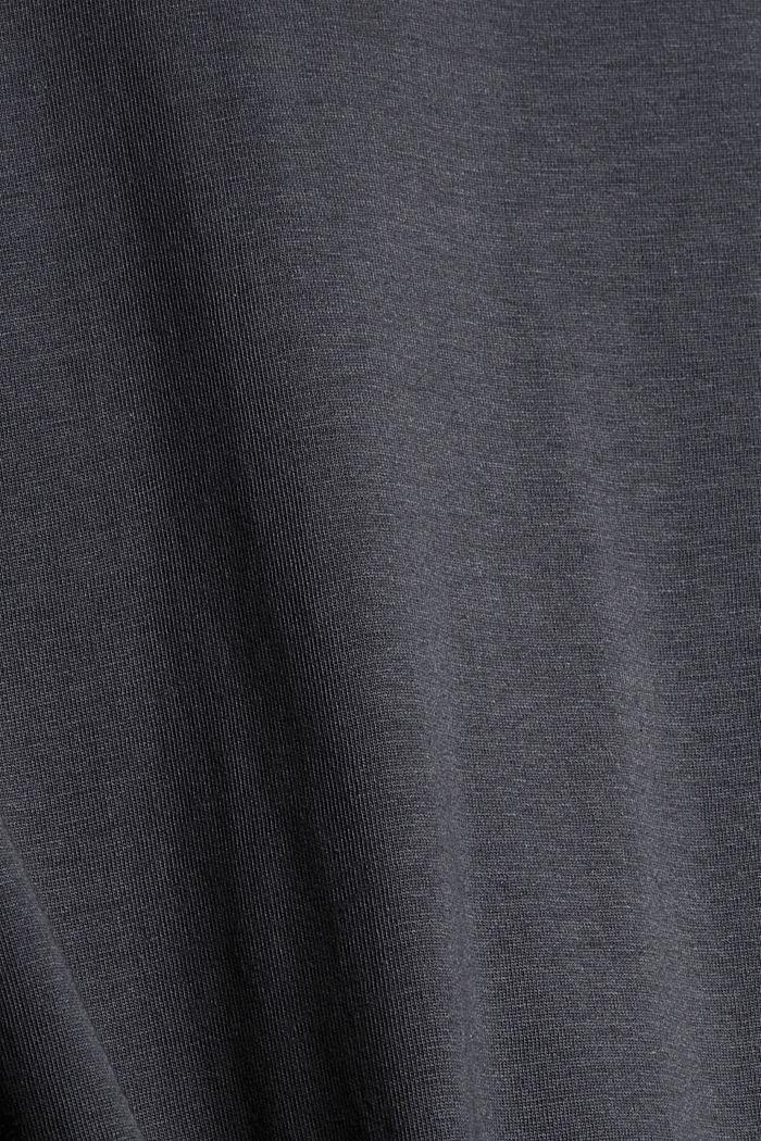 Pyjama van 100% biologisch katoen, DARK GREY, detail image number 5
