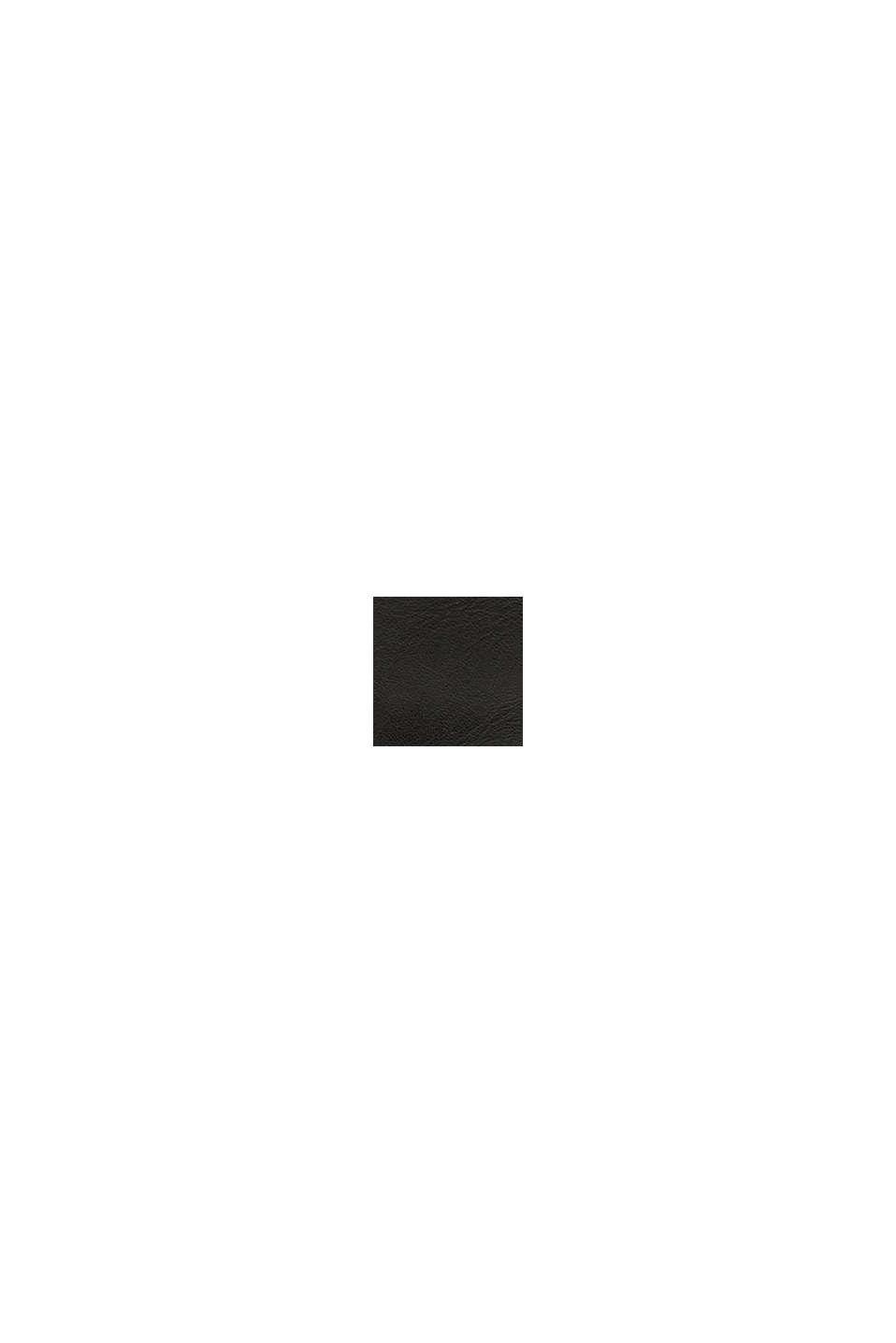 Enkellaarsjes met gesp van imitatieleer, BLACK, swatch