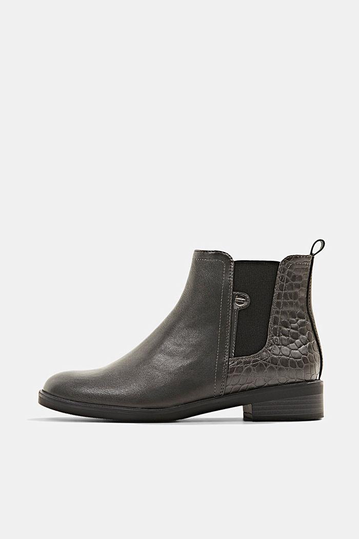 Chelsea boots van imitatieleer