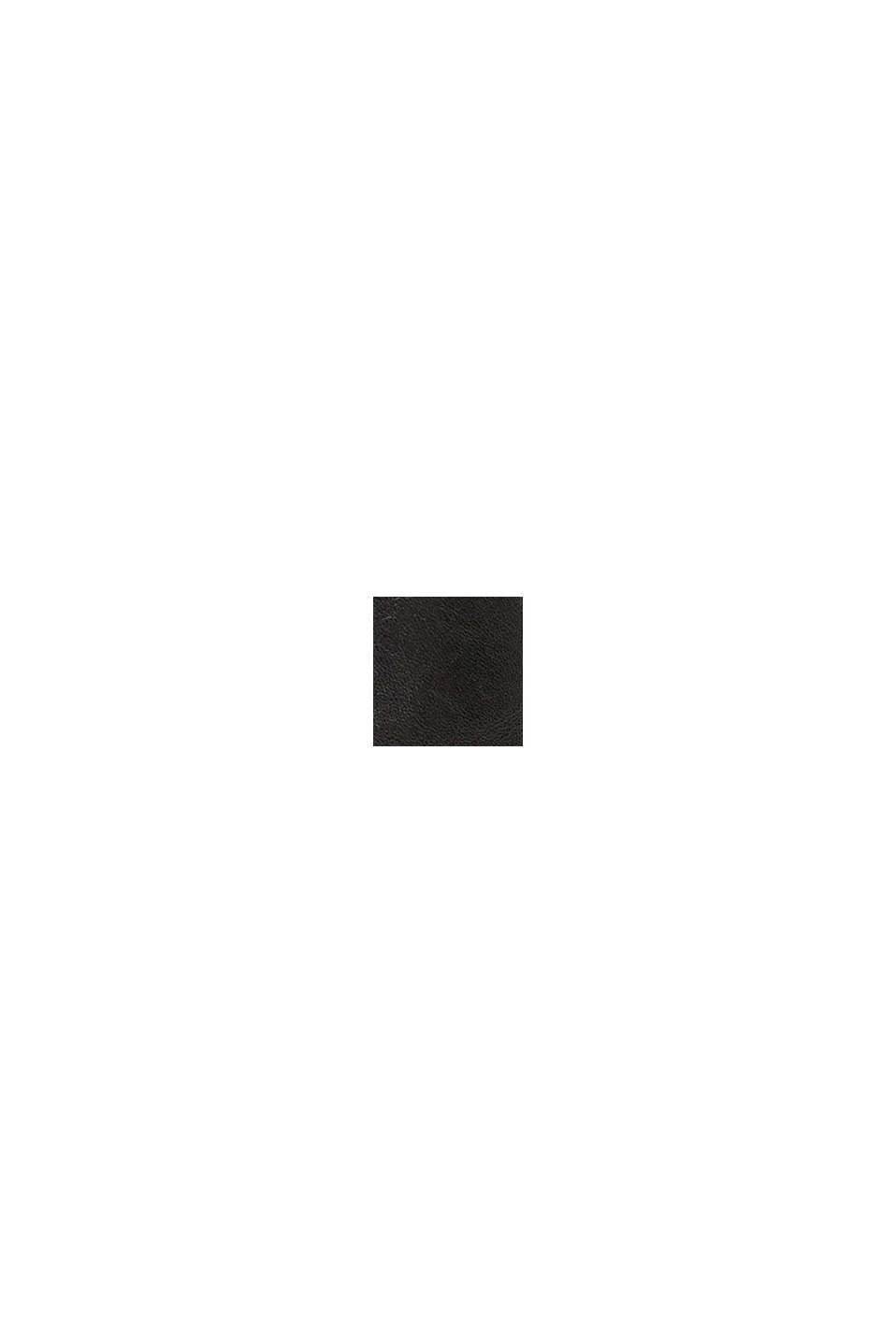 Botki z ekoskóry z klamrą, BLACK, swatch