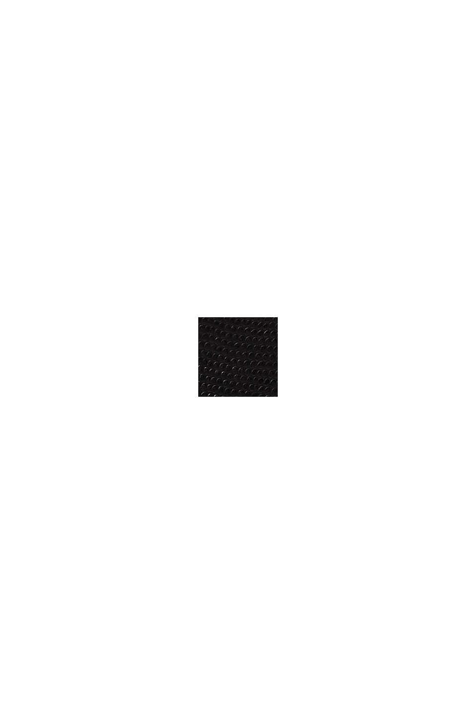 Nauhakengät kohopintaista tekonahkaa, BLACK, swatch