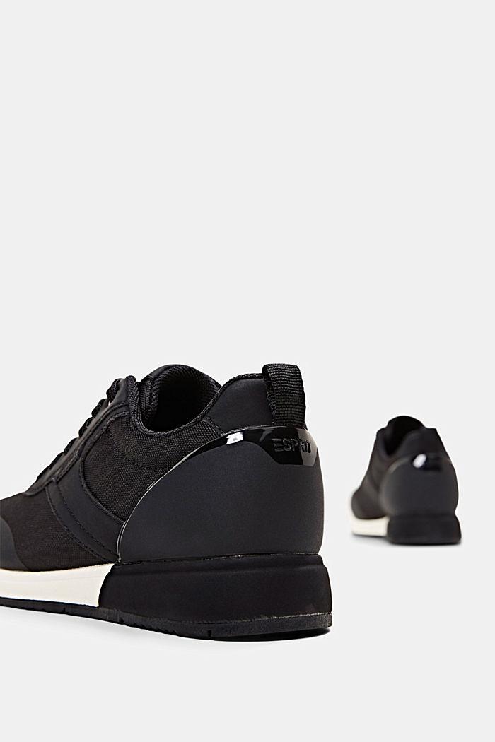 Sneakers met de look van hardloopschoenen, BLACK, detail image number 5