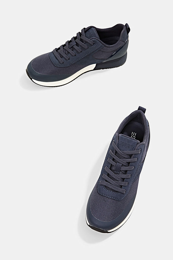 Sneakers mit Running-Silhouette, NAVY, detail image number 5