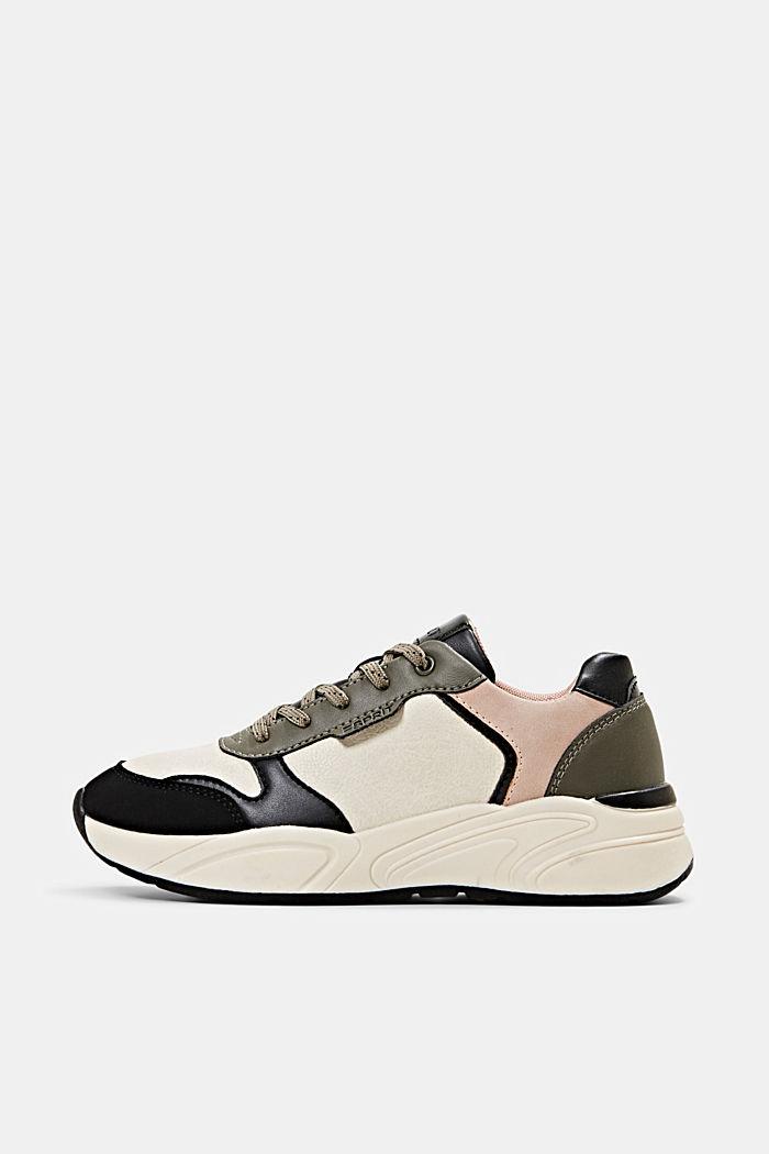 Sneakers van imitatieleer, BLUSH, detail image number 0