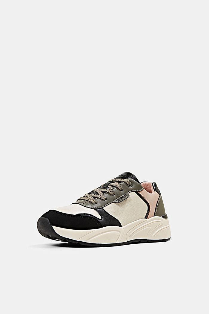 Sneakers van imitatieleer, BLUSH, detail image number 2