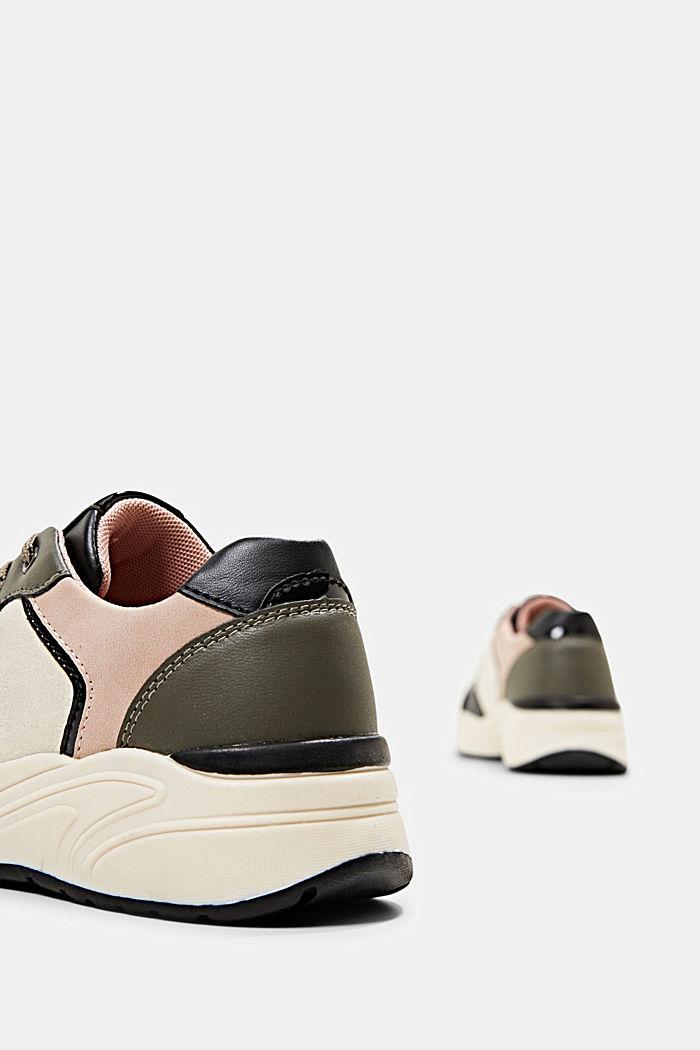 Sneakers van imitatieleer, BLUSH, detail image number 5