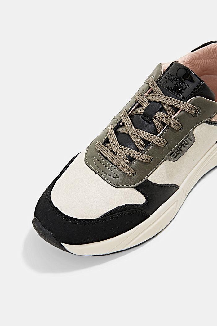 Sneakers van imitatieleer, BLUSH, detail image number 4