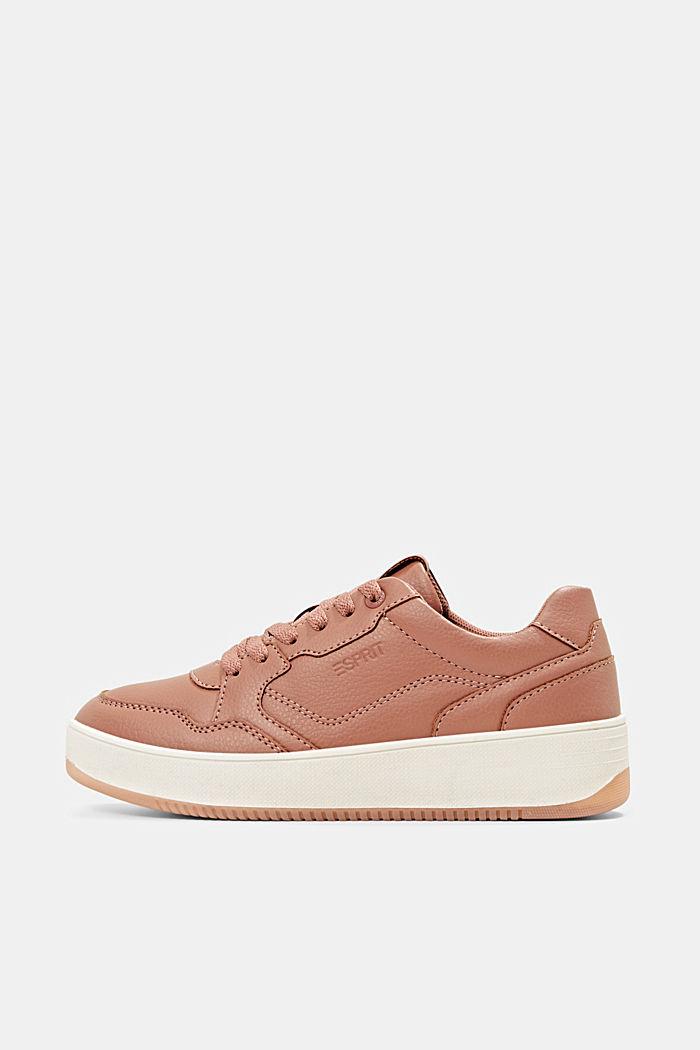 Plateau-Sneaker in Lederoptik, BLUSH, detail image number 0