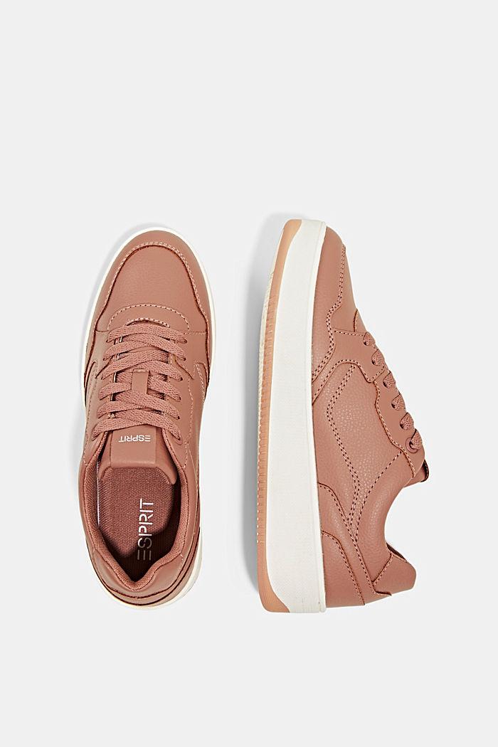 Plateau-Sneaker in Lederoptik, BLUSH, detail image number 1