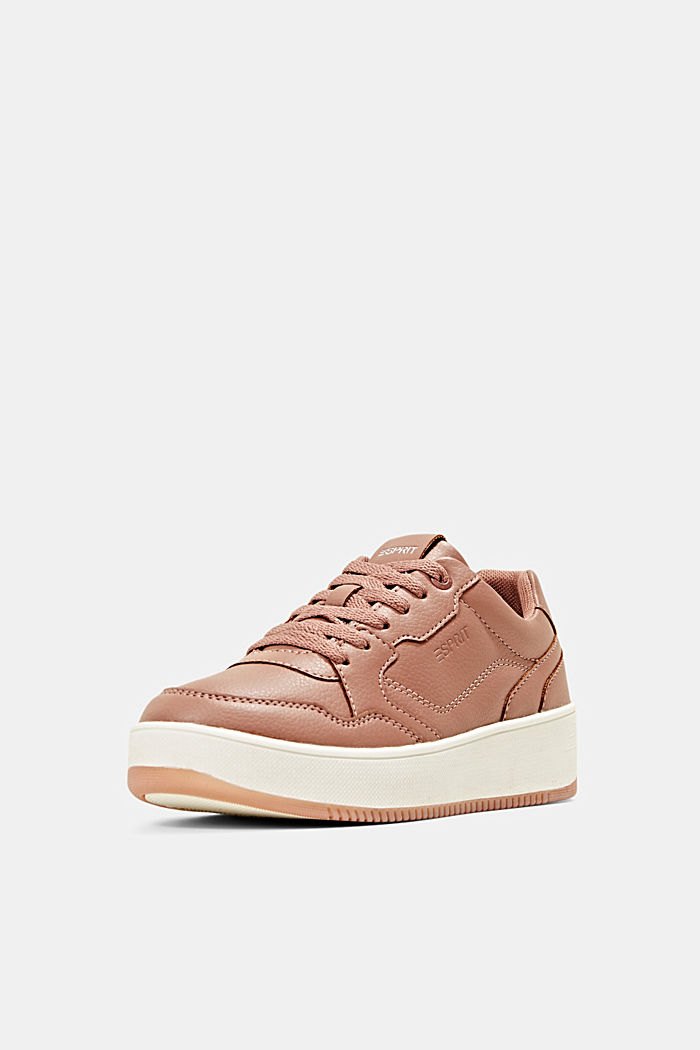 Plateau-Sneaker in Lederoptik, BLUSH, detail image number 2