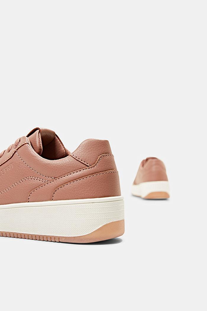 Plateau-Sneaker in Lederoptik, BLUSH, detail image number 5