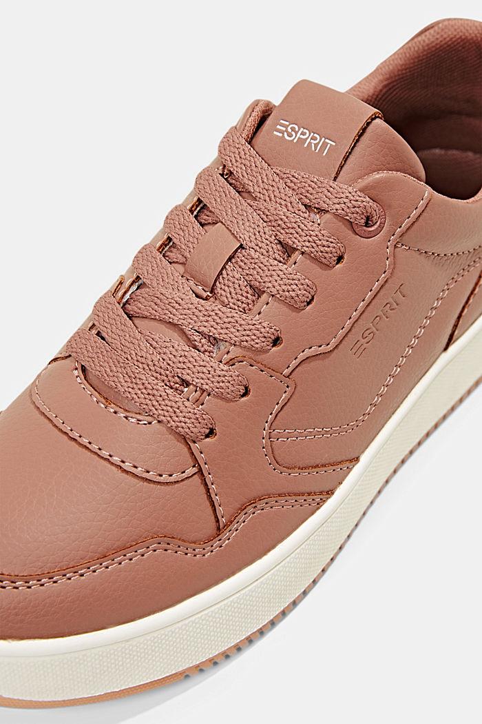 Plateau-Sneaker in Lederoptik, BLUSH, detail image number 4