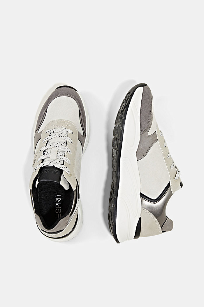 Casual Shoes textile, LIGHT GREY, detail image number 1