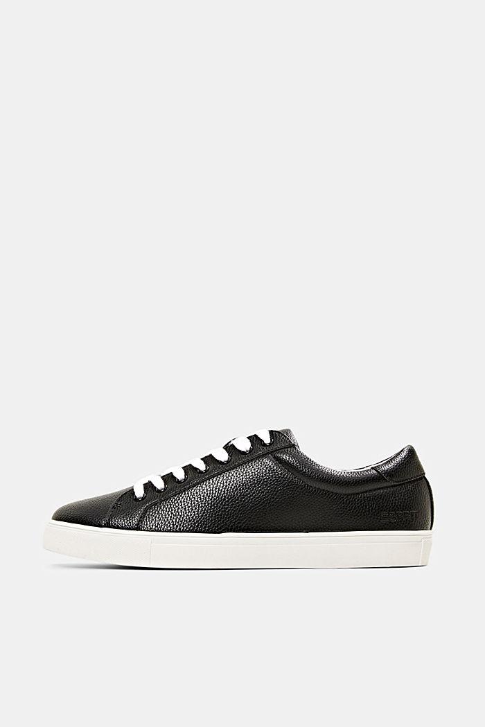 Sneakers en similicuir