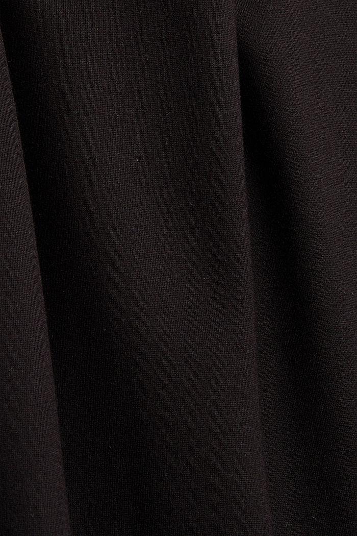 Culotte aus Punto Jersey mit LENZING™ ECOVERO™, BLACK, detail image number 4