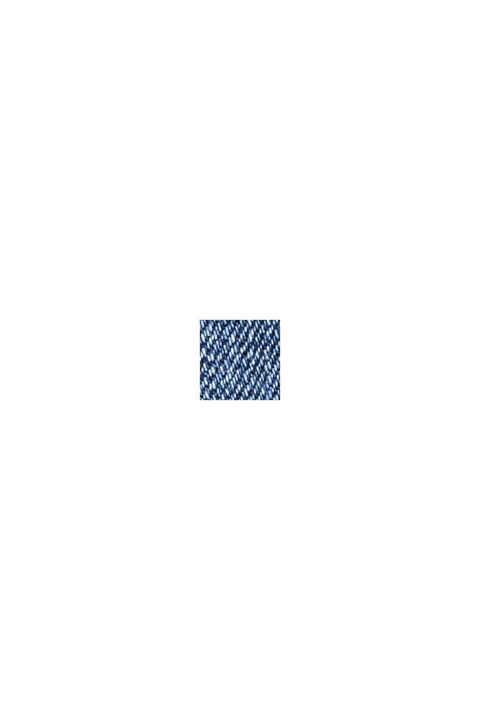 Jeans elasticizzati in cotone biologico, BLUE MEDIUM WASHED, swatch