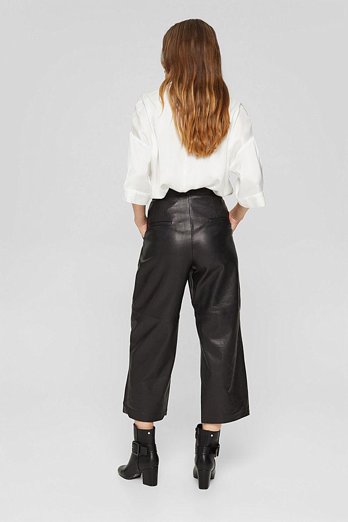 Van leer: culotte met hoge band, BLACK, detail image number 3