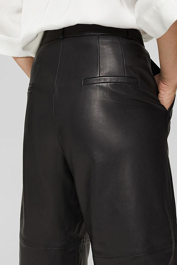 Van leer: culotte met hoge band, BLACK, detail image number 2