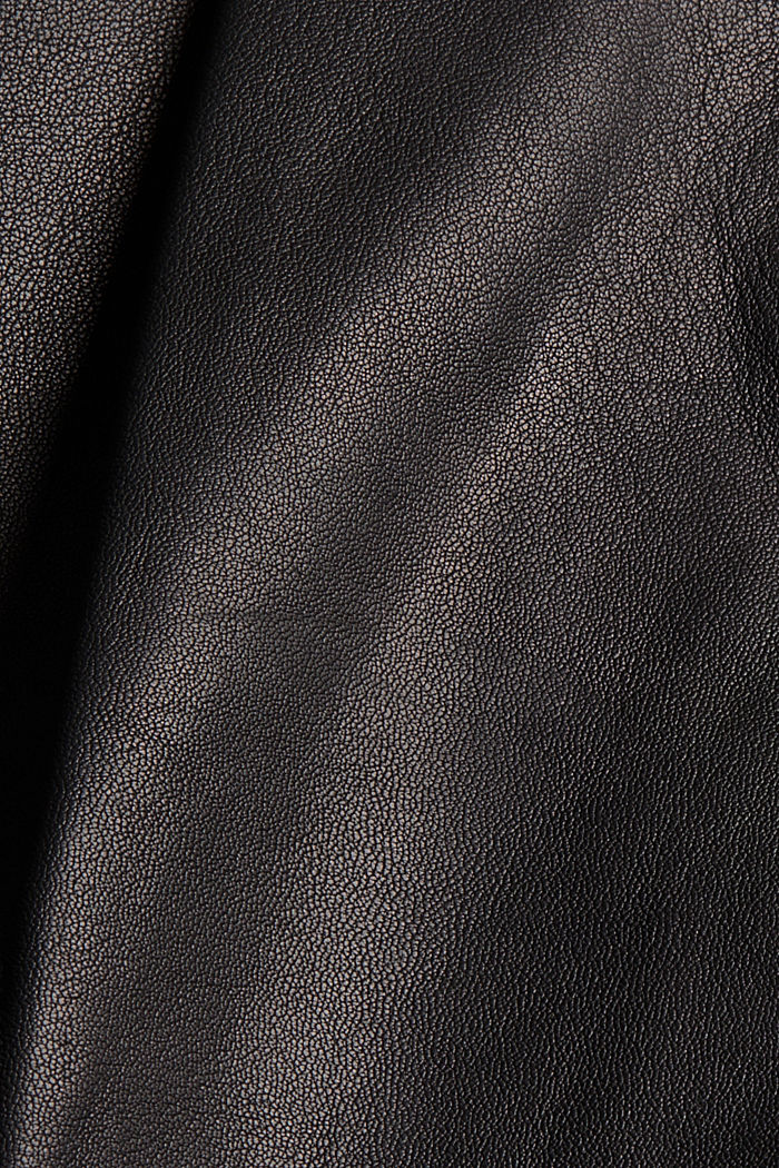 Van leer: culotte met hoge band, BLACK, detail image number 4